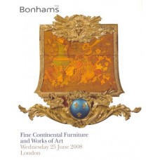Аукционник Bonhams Fine continental furniture and works of art. Европейская мебель и предметы искусства. 25 июня 2008.