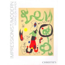Аукционник Christie's Impressionist/Modern Art works on paper. Импрессионизм и современное искусство на бумаге. 7 мая 2008.