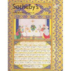 Sothebys Аукционник IMPORTANT JUDAICA
