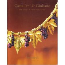 SOTHEBY's Castellani & Giuliano драгоценности в Джудит H. siegel коллекция редкая 2006г